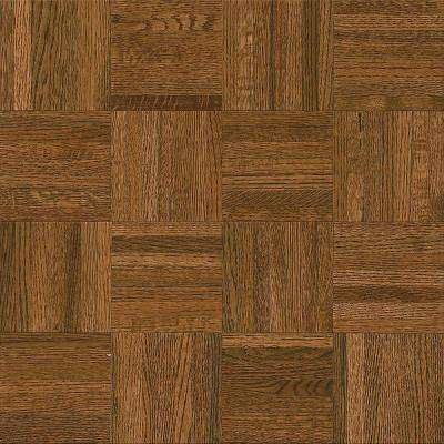 parquet flooring natural oak gunstock 5/16 in. thick x 12 in. wide x YXWHBFH