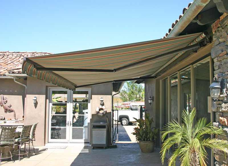 Comparing the patio awning