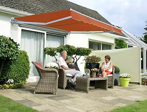 patio awning image is loading primrose-patio-awning-manual-yard-canopy-sun-shade- KJDRYZH