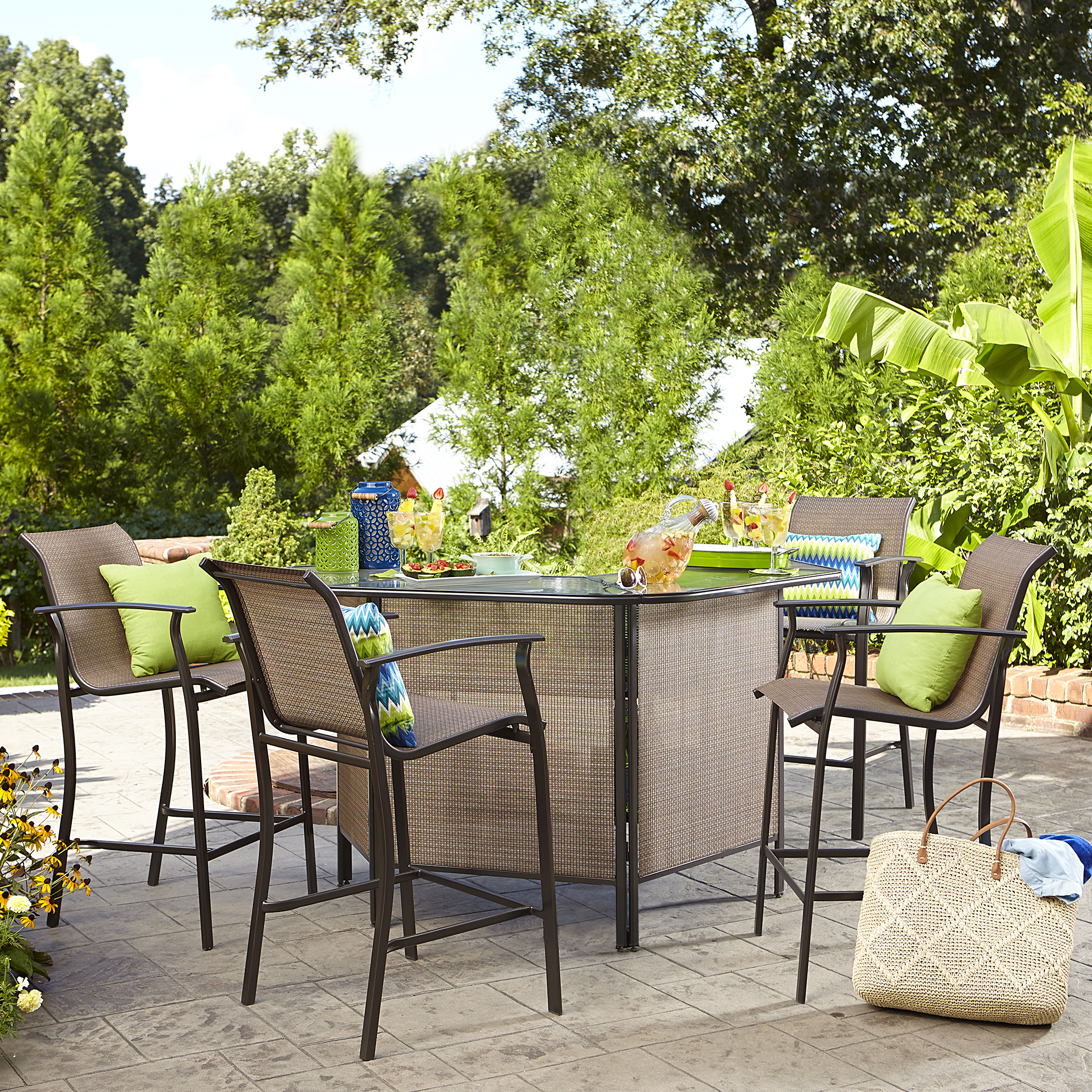 Patio Bar Set With Patio Bar Set Outdoor Ihdjlub Selecting Lovely Patio Bar Set For Your Home Darbylanefurniturecom