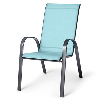 patio chairs sling stacking patio chair - threshold™ : target HYPQEJP