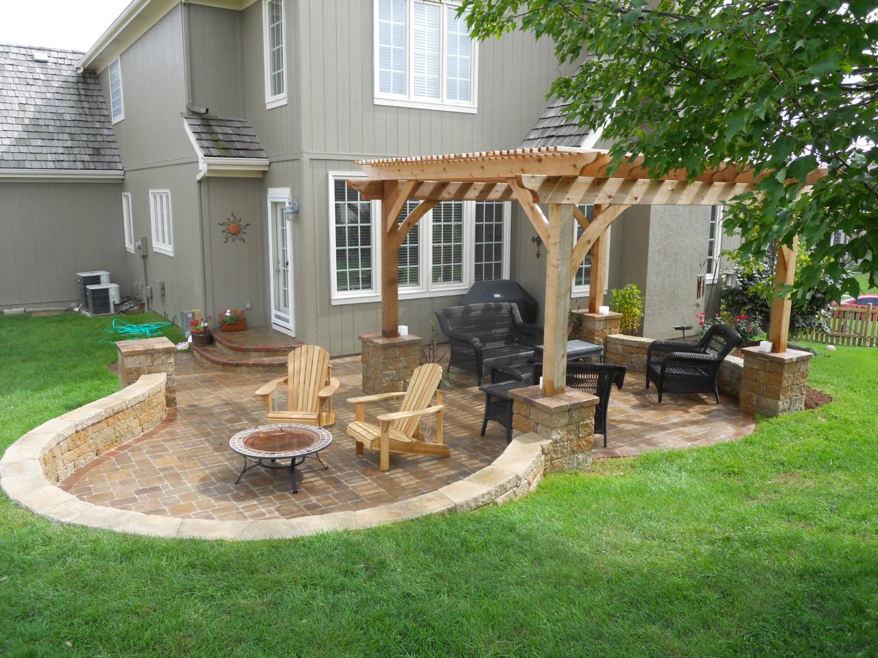 patio design ideas they design awesome pergola patio ideas outdoor living pertaining to XPQHIPN