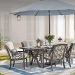Patio Table and Chairs with Functionality and Comfort