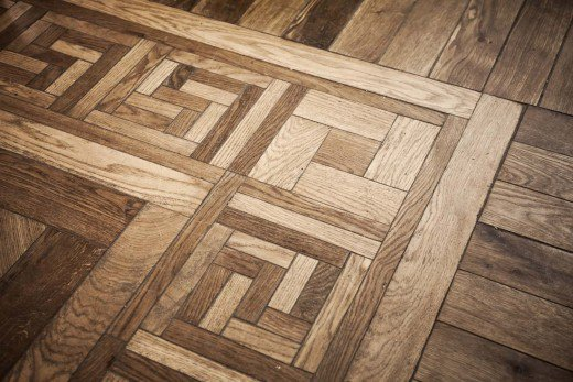 pattern of oak parquet flooring JQLLJXE