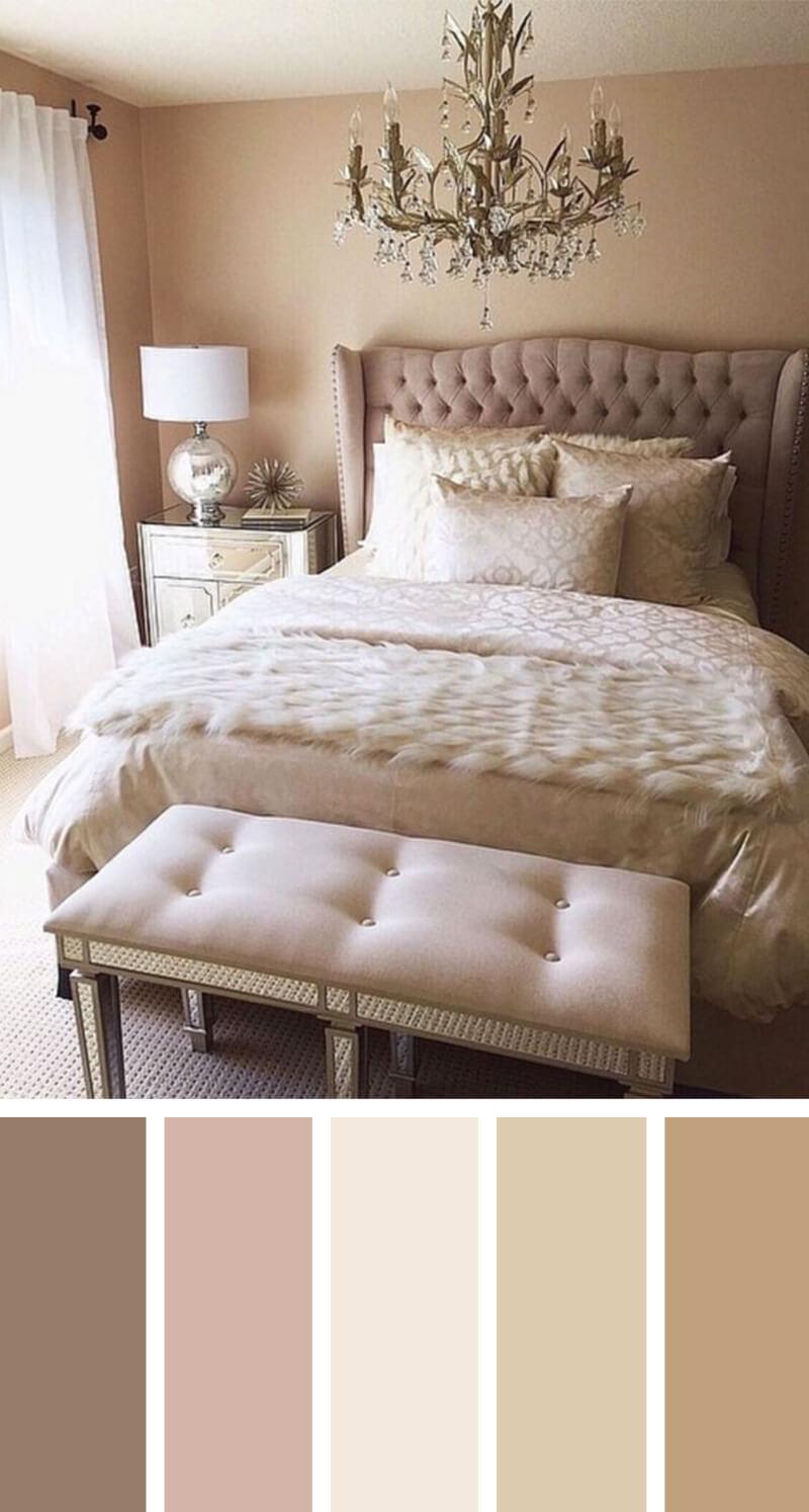 perfect nude bedroom color scheme ideas JXAOFBQ