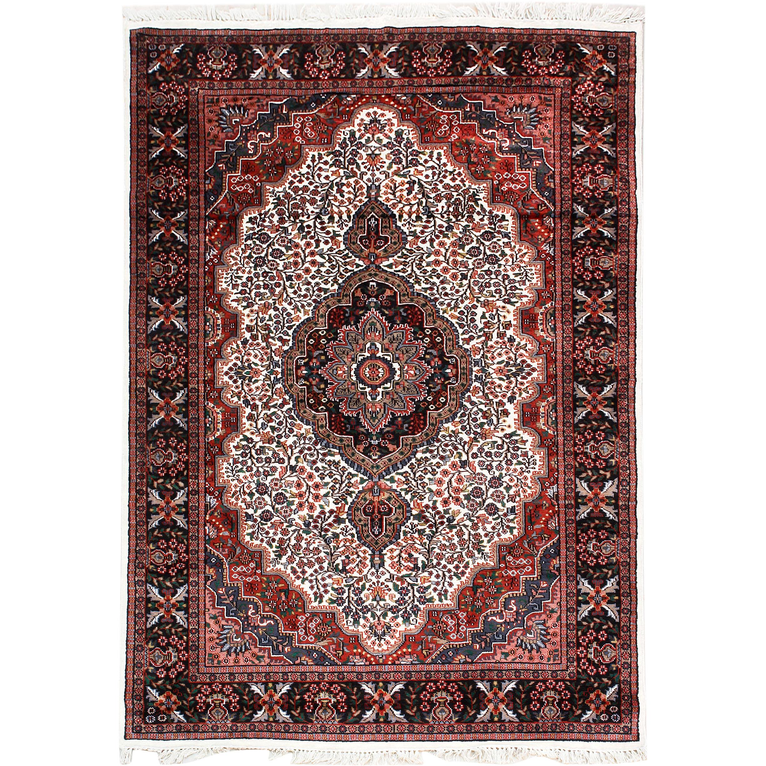 persian carpets classic rugs :: kashmir silk 226x156cm oriental silk rug - discount QMVOHGJ
