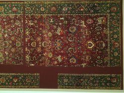 persian carpets left image: persian animal carpet, safavid period, 16th century, museum für GKEVWVP