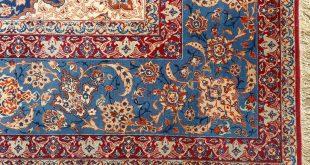 persian rugs fine ivory background vintage isfahan persian rug 51078 flower nazmiyal BHNYTCU