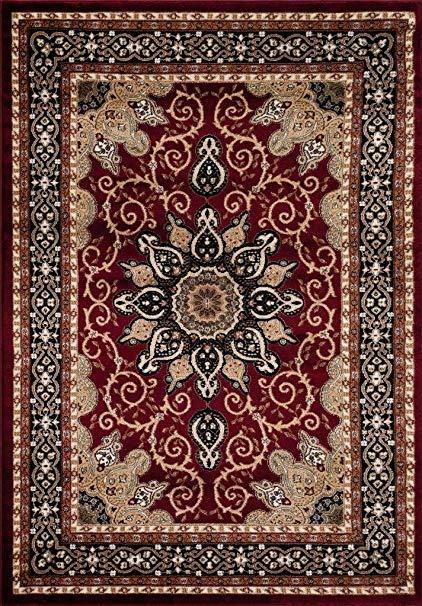 persian rugs persian-rugs 653 isfahan area rug oriental carpet, 5 x 7 ft, GIQFEER