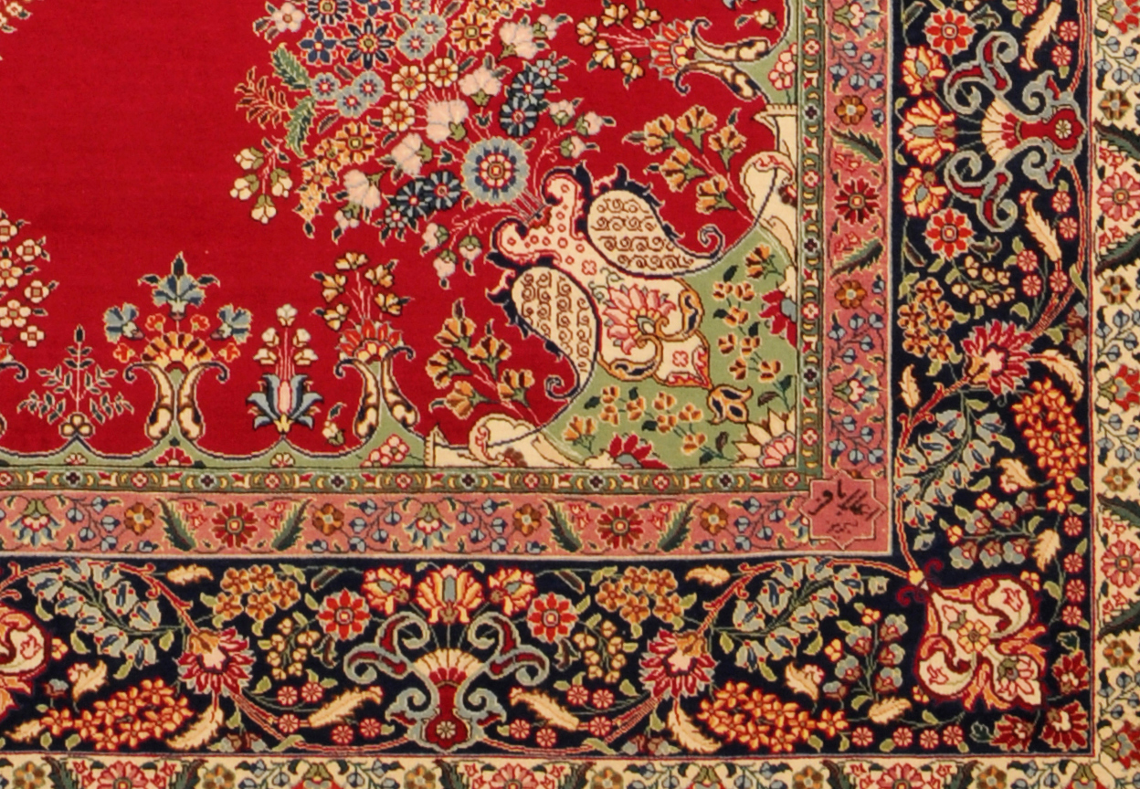 persian rugs signature of alabaph XTZYBCQ