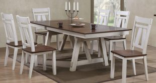 picture of winslow - farmhouse dining table ... ONBTGSE