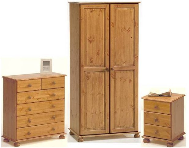 pine wardrobes kalbeck pine 2 door wardrobe bedroom set CJRMJJY