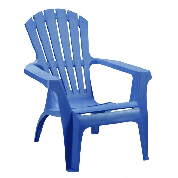 plastic garden chairs panama summer garden chair - blue | poundstretcher LGCICFY