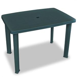 plastic garden table image is loading green-plastic-garden-table-outdoor-patio-camping-small- HLSIJQJ
