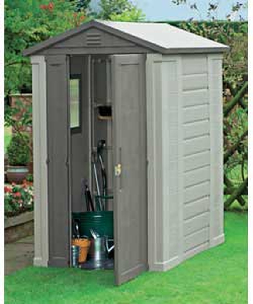 plastic sheds erection of plastic garden shed - garages - sheds job in LXPHRAT