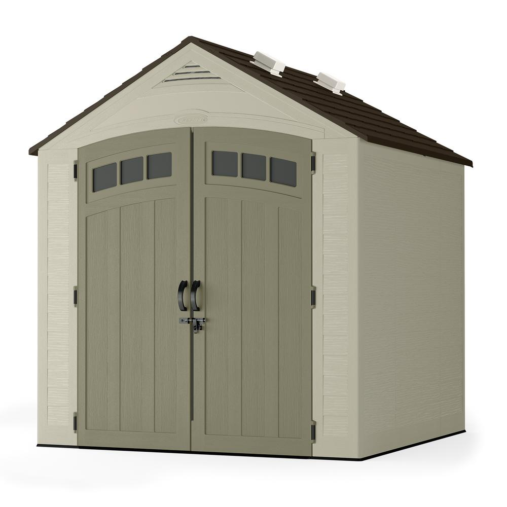 plastic sheds resin storage shed with accessories FBPQIHT