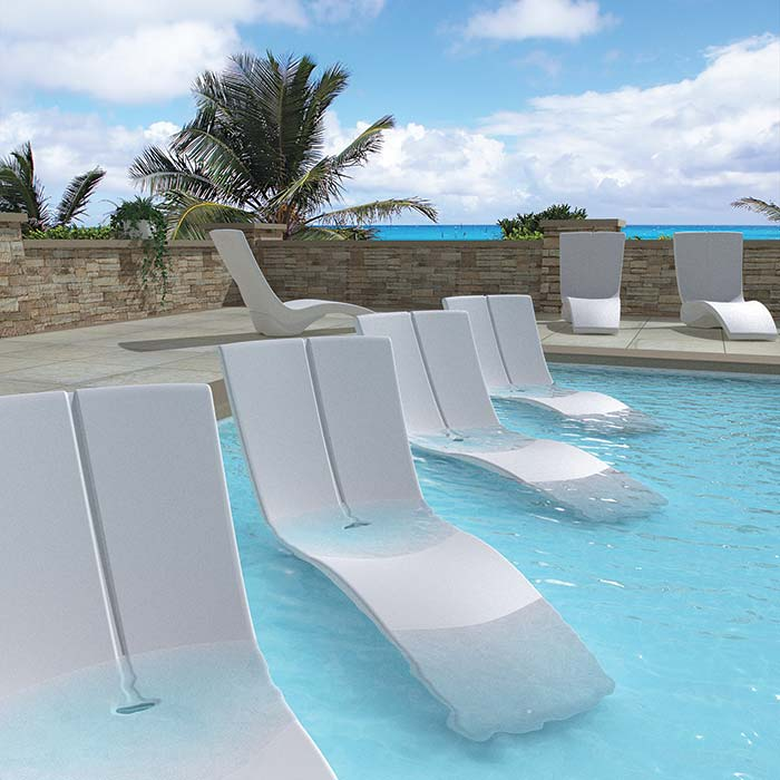 pool furniture patio curve chaise lounge OCVLJBL