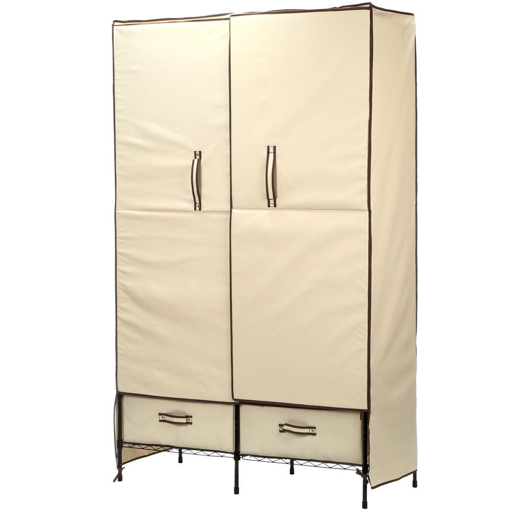 portable closet honey-can-do 71 in. h x 45 in. w x 18 NXNBIDO