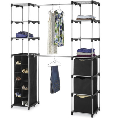 portable closet portable closets closet organization for the home - jcpenney VLBYRST