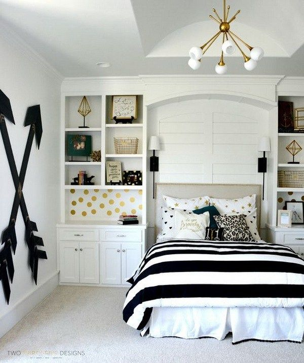 DIY Teen Girl Bedroom Furnishing