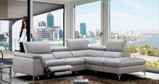 power recliner italian leather sofa nj velia YBWUNHR