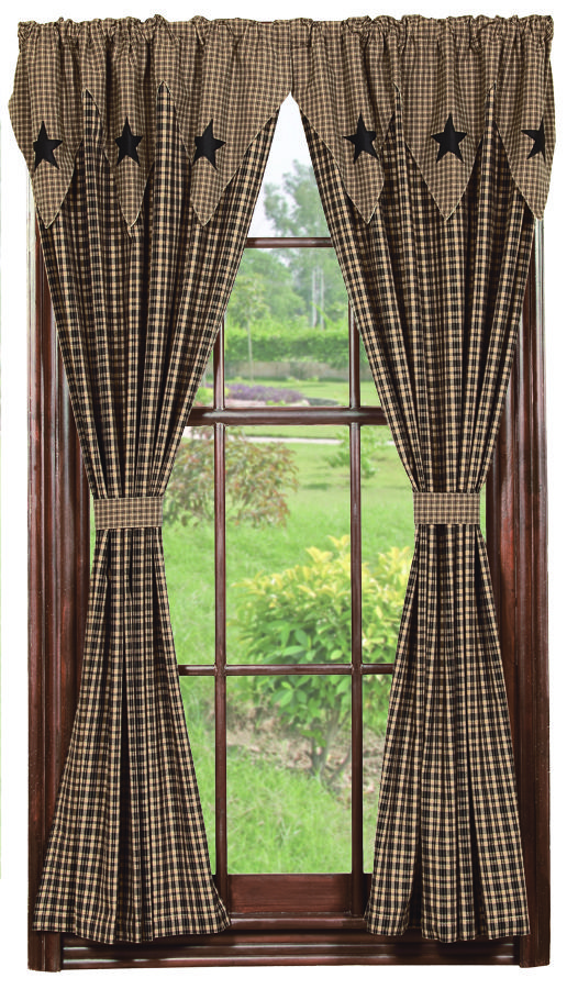 primitive curtains drapes window treatments | ... treatments i am interested in trying XTQLWTB