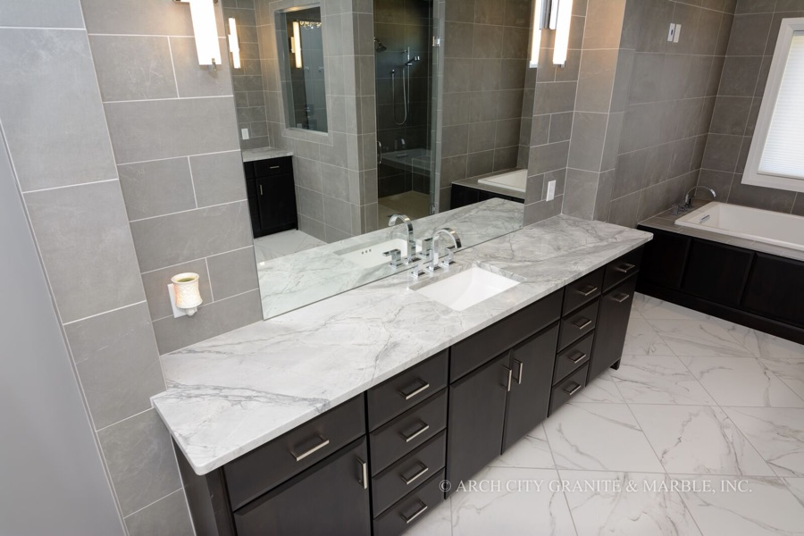 quartzite bathroom countertops NNWQHLH