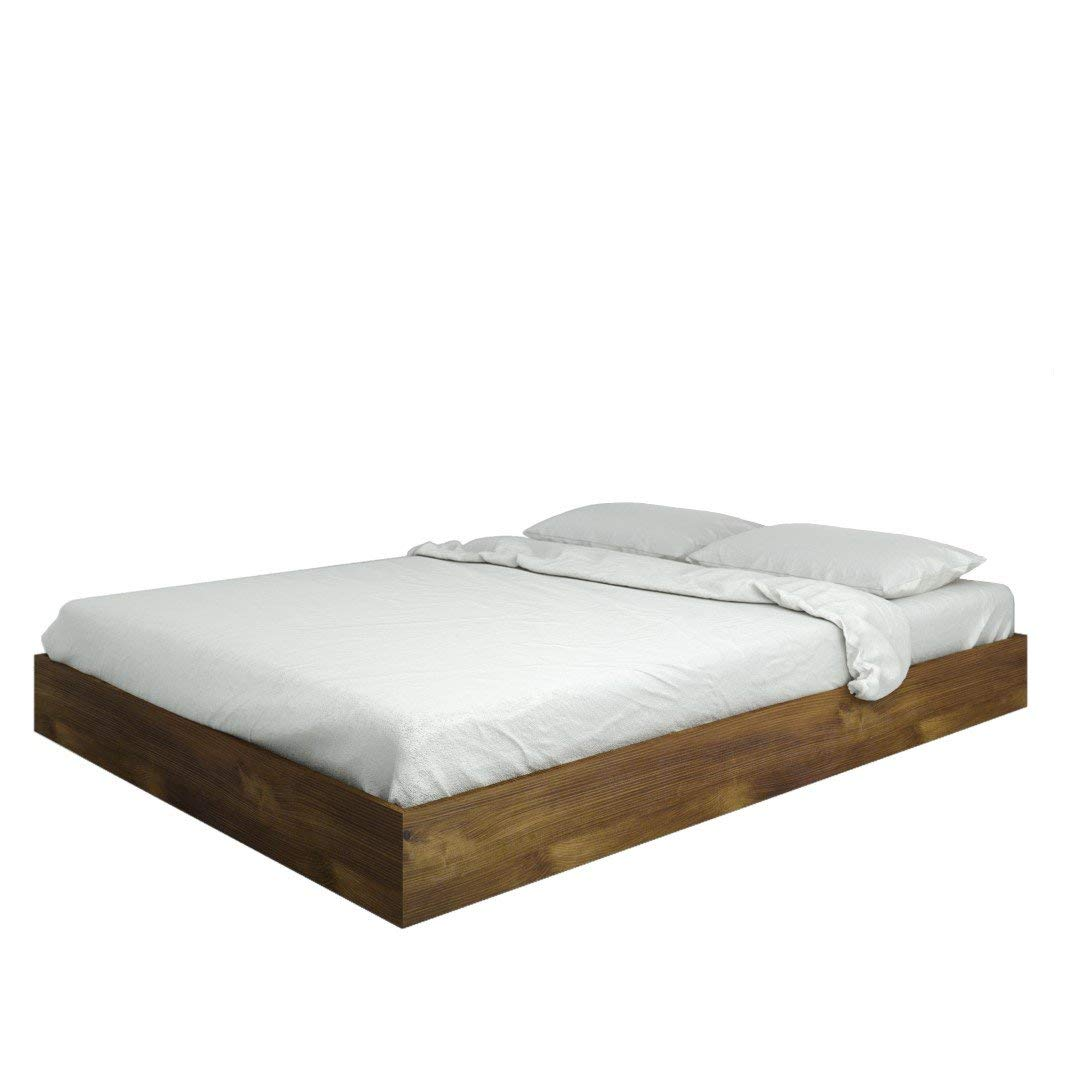 queen size beds amazon.com: nexera nocce queen size bed 401260 from, truffle: kitchen u0026 TRIQVEJ