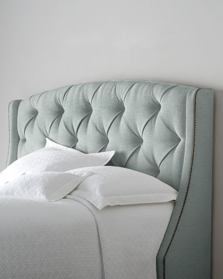 rami wing twin tufted headboard ZDFYZOG