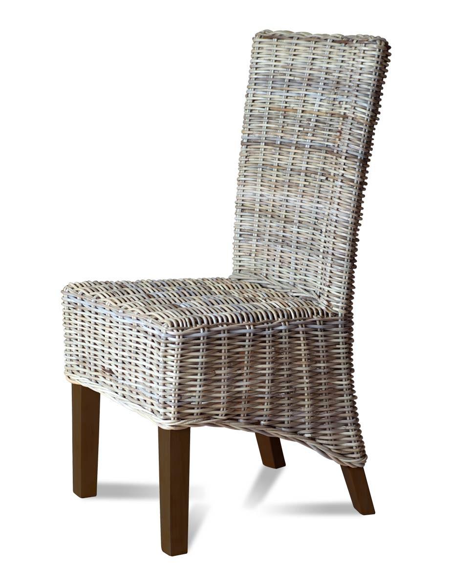 rattan dining chairs kubu rattan dining chair - dark leg IXHBETV