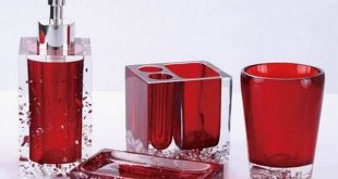 red bathroom accessories red glass bathroom accessories. email; save photo. glass BEAGZDW