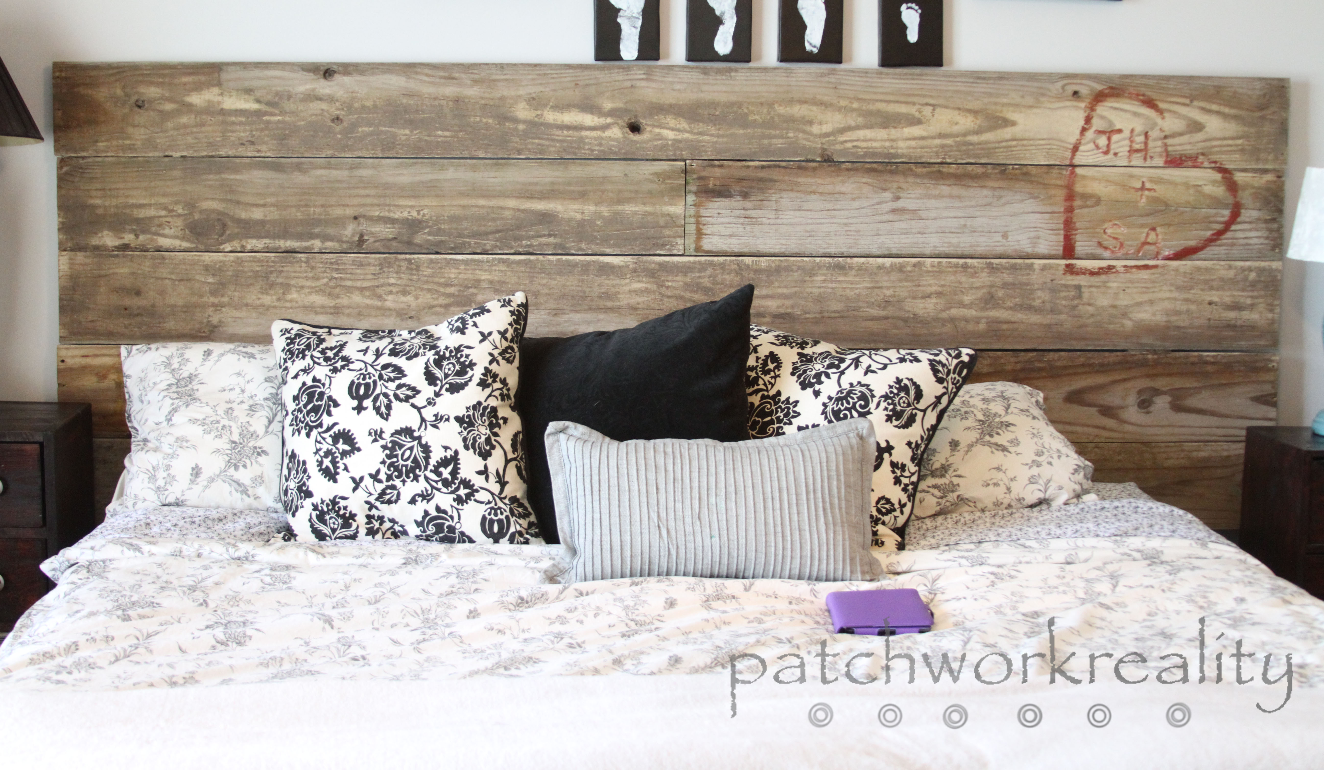 repurposed rustic king size headboard OGOCUES