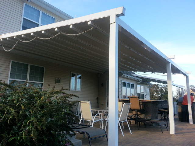 residential waterproof retractable patio awning traditional-patio YEUSXOF