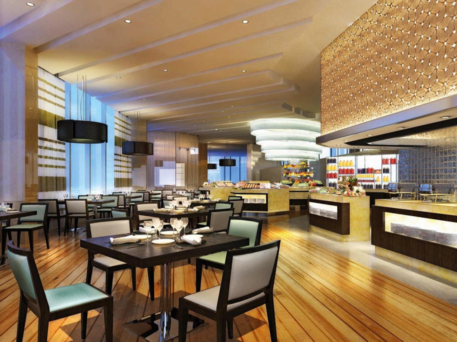 restaurant interior design GEGQXUI