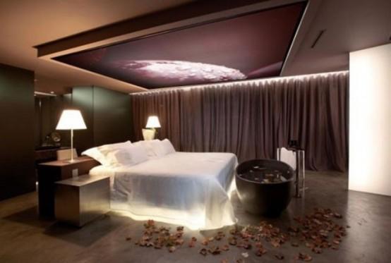 romantic bedroom lighting ideas GJORVTU