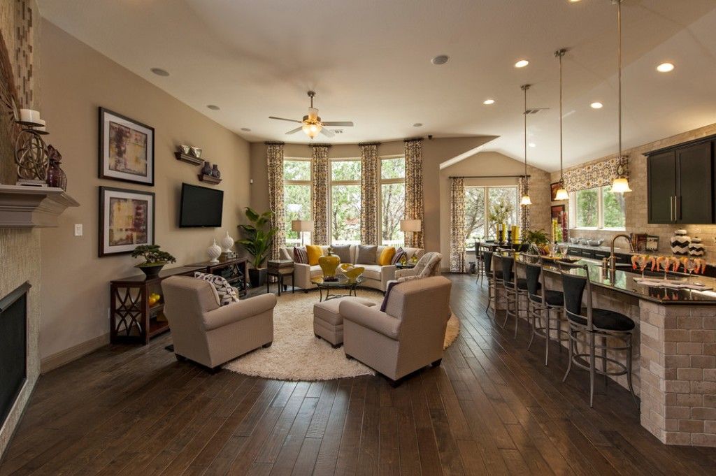 round area rug living room adorable breakfast bar design with simple decorating ideas for small IOGSEBL