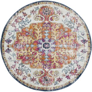 round area rugs hillsby saffron area rug QIMAYDP