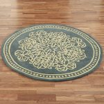 Round Area Rugs To Embellish Your Interior