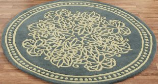 round area rugs lucia lace round rug steel blue 5 round VRRKFTB