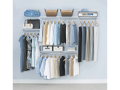 rubbermaid closet 4-8 ft. configurations® custom closet kit EAETMMU