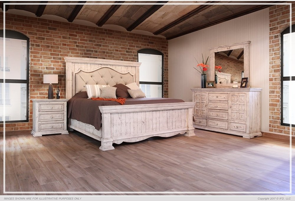 rustic bedroom furniture bella bedroom set queen $3199 $3299 ... VLDDUSQ