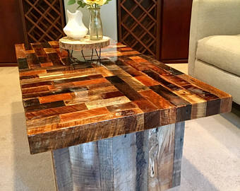 rustic furniture reclaimed wood coffee table, rustic ... EFOQQVD
