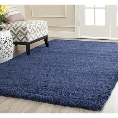 safavieh milan shag navy blue rug (10u0027 x ... UKCIEDU