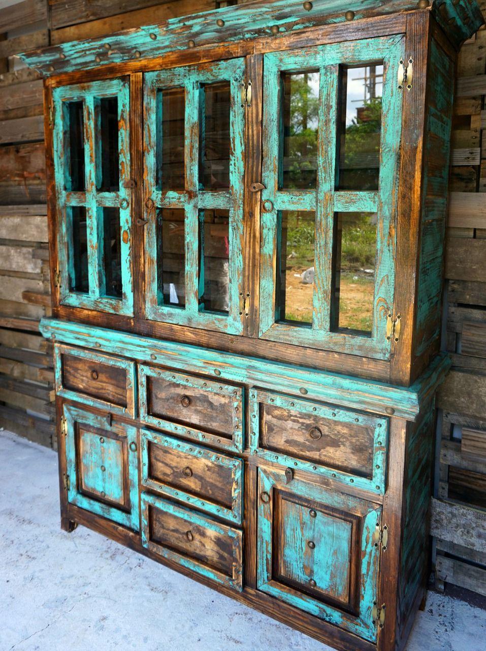 san antonio rustic hutch - sofiau0027s rustic furniture - a perfect EWPPVVA