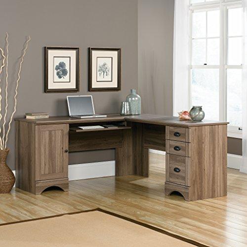 sauder corner home office desk HJVKJLB