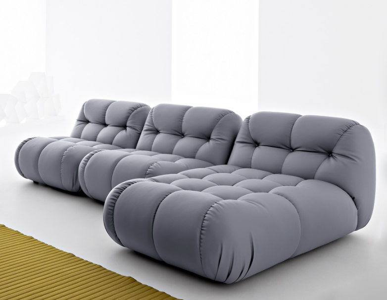 sexy modular sofa with extra deep tufting ZYINDEP