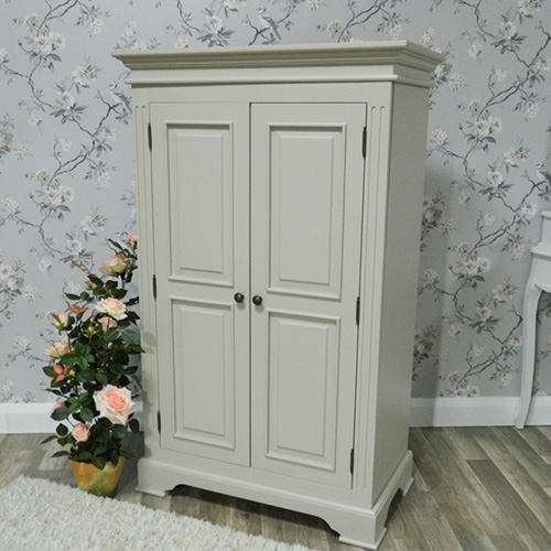 shabby chic wardrobe cottage range - grey wardrobe closet SXOGZVA