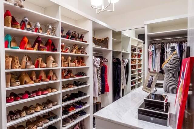 shoe closet today, weu0027ll take a look at five custom closet designs that PLUZBZP