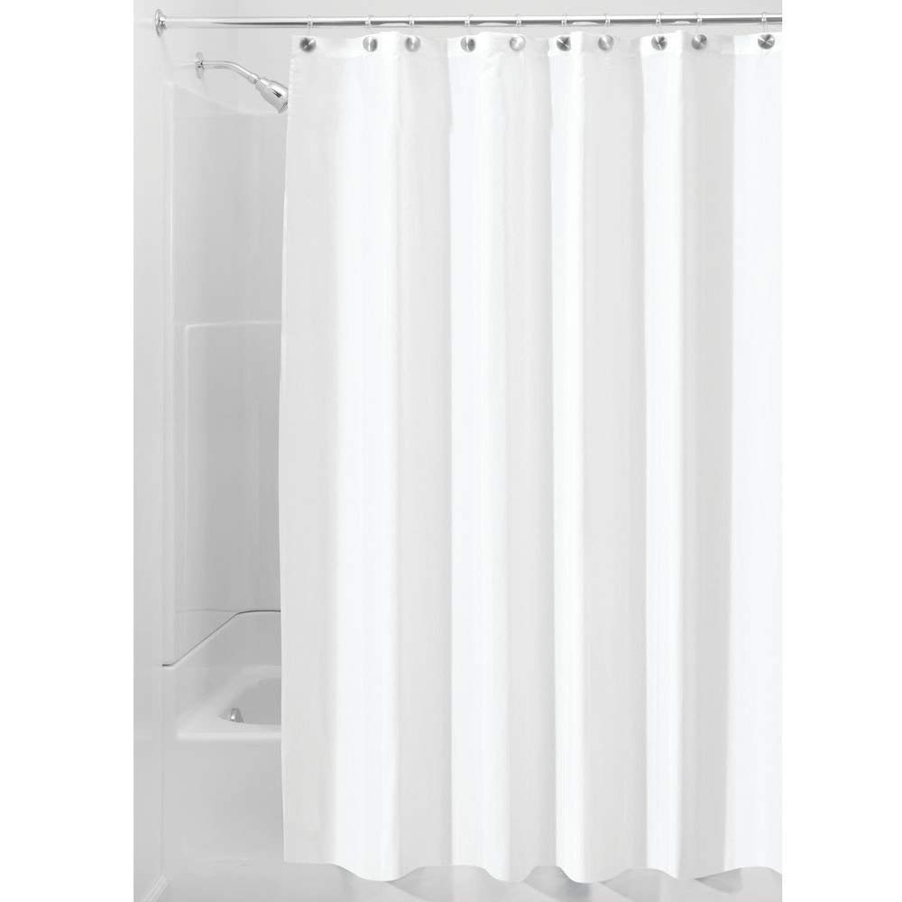shower curtain amazon.com: interdesign waterproof mold and mildew-resistant fabric shower  curtain, 72-inch KIBCHSG