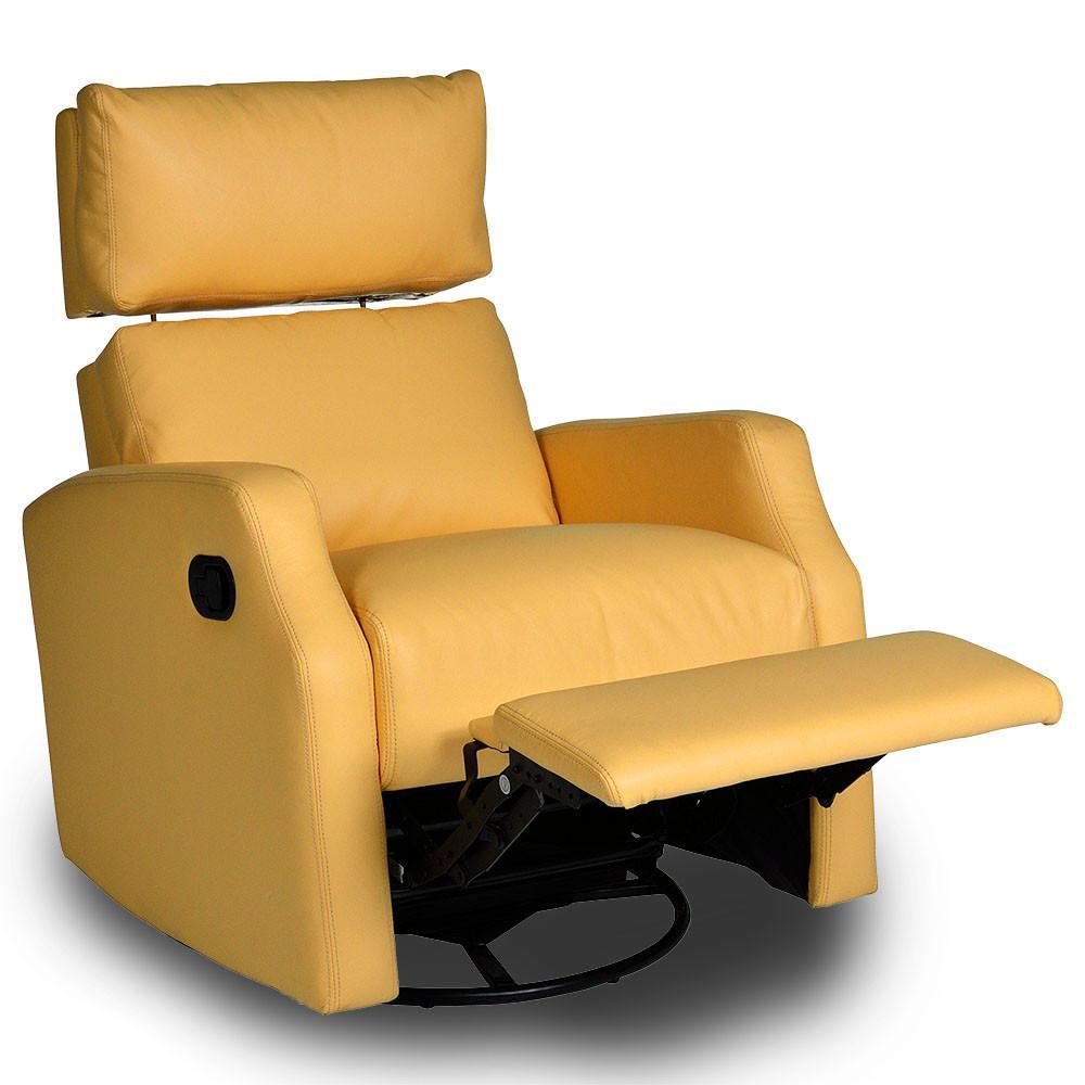 sidney swivel rocker recliner - diego yellow FXUEPMK